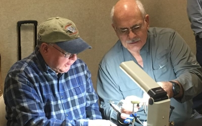 January Fly Tying at the Charlotte, NC Veterans Affairs Medical Center