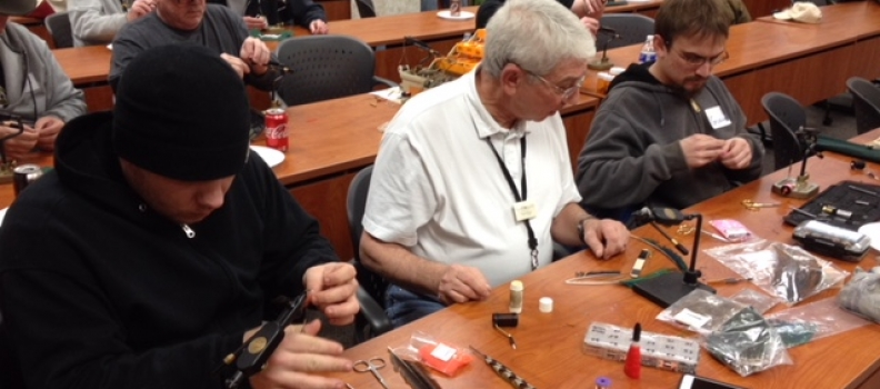 Fly Tying and Rod Building at the Coatesville VAMC