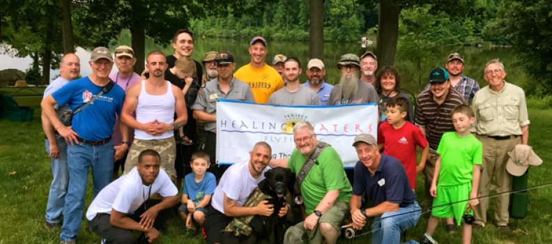 A Quiet Night at the Lake with Project Healing Waters Coatesville