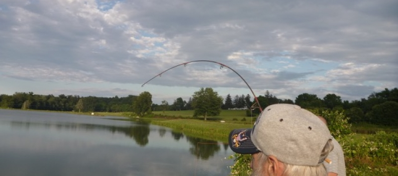 Battling Son Of Carpdaddy! – Project Healing Waters Coatesville VAMC