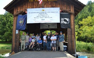 Dominion Energy Hosts Disabled Veterans on Pennsylvania's Spruce Creek