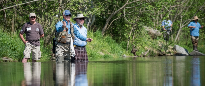 Meet the Guides for the 12th Annual Project Healing Waters Fly Fishing 2-Fly Tournament