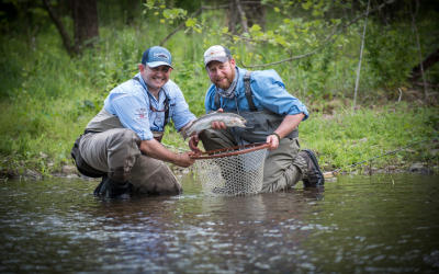 Free Fly Fishing Program for Disabled Veterans starts in Traverse City, Michigan