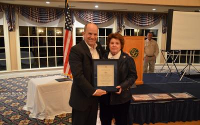 The Patriot Award bestowed upon Marla Anderson