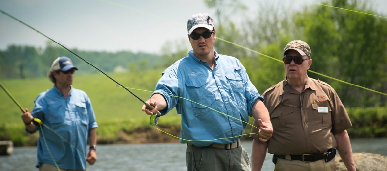 Disabled Veterans to compete in nationwide fly fishing competition