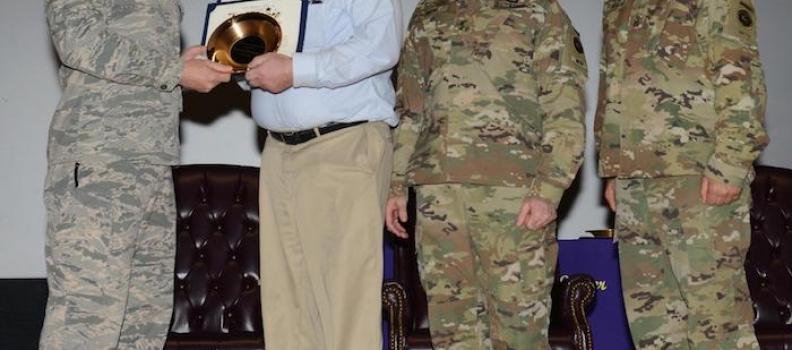 JBER Honors Damond Blankenship with 2 Awards for PHWFF Service