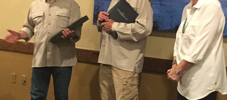Don Lee Receives the Patriot Award