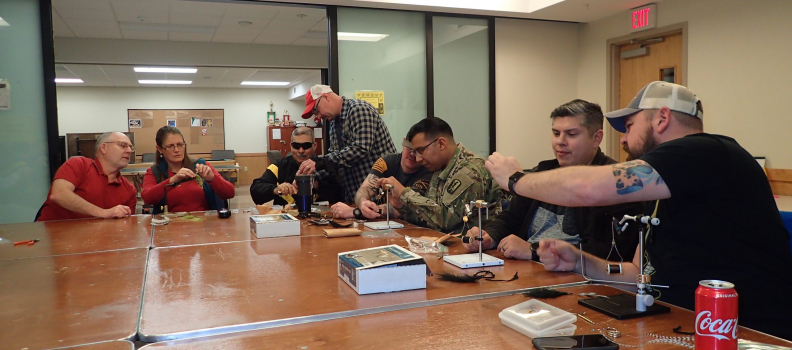 Ft. Lewis Program Shares Rehabilitation Benefits of Fly Tying with Wounded, ill, and Injured Soldiers