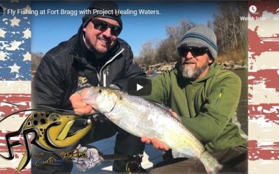 WATCH: Fly Fishing at Fort Bragg with Project Healing Waters (Full Episode)
