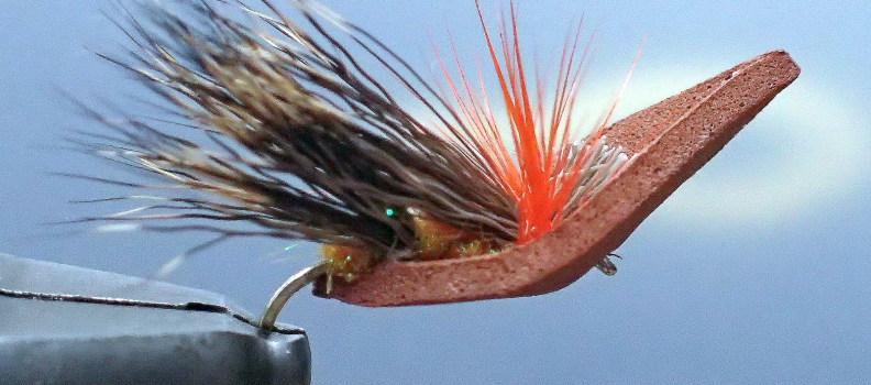 PHWFF Fort Lewis Program Ties Titanic Dry Flies