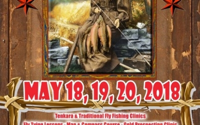 The PHWFF New England Region to attend the 1st Annual Fly Rod Crosby Days on May 18 – 20, 2018