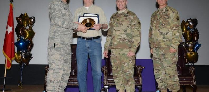 JBER Honors Frank Stevens with 2 Awards for PHWFF Service