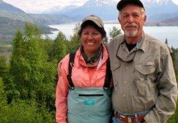 Gary and Virginia Powell receive the Patriot Award