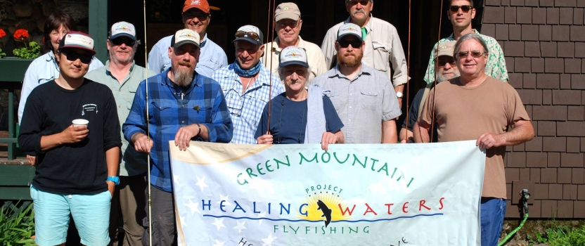 Vermont-debut of the International Fly Fishing Film Festival to benefit Project Healing Waters Fly Fishing on March 13, 2018