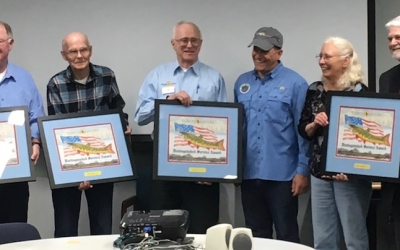 Frank Stevens Recognized for His Commitment to PHWFF