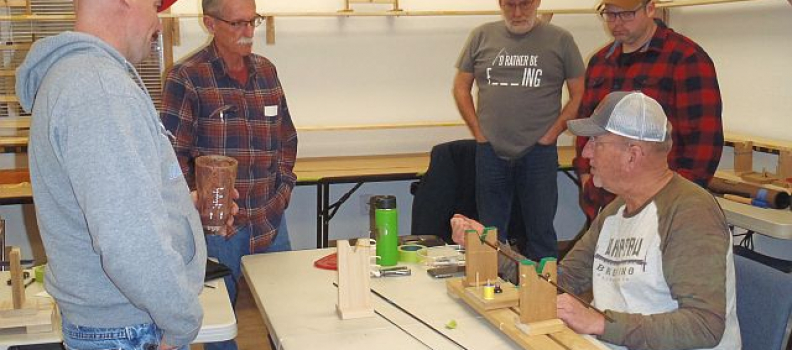 Ft Lewis Program Builds Fly Rods for National Competition