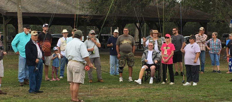 Fly Casting Clinic Held at Fox Lake Park