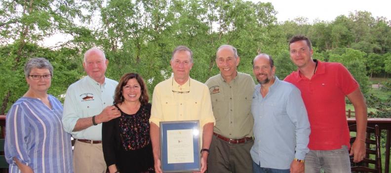 John Miko receives The Patriot Award