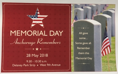 David and Carolyn Rooker Honored at Memorial Day Event
