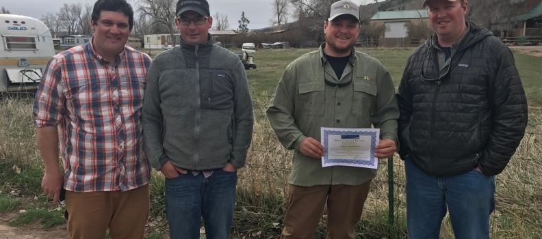 Casper, WY PHWFF participant graduates from Guide School