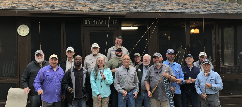 Bamboo Bends teaches disabled veterans the magic of building a bamboo fly rod