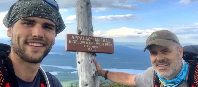 UPDATE! Photos from the AT: Gerry & Rex Leonard hike to heal veterans