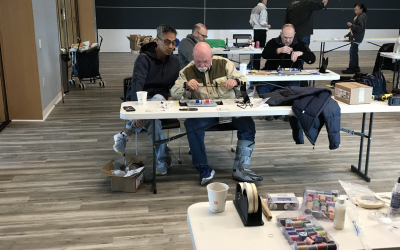 PHWFF Walter Reed Program Prepares for Spring Fishing during the annual Rod Building Seminar