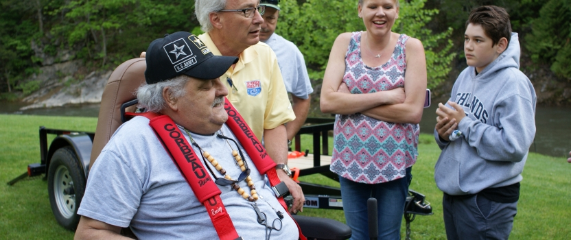 Veterans enjoy 2 days of angling at Riverbound Extreme