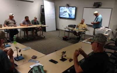 Veterans Teaching Veterans: Fly Tying Class with PHWFF Johnson City, TN (VIDEO)