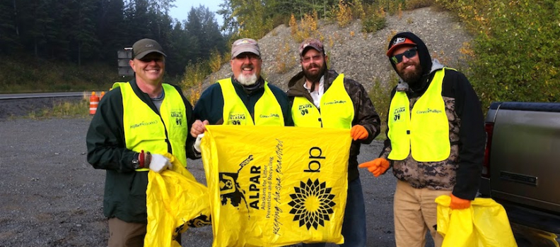 PHWFF Helps with Fall Kenai River Clean Up
