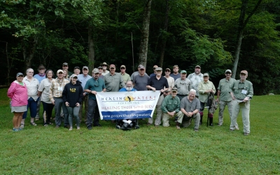 Norton Creek shines in August for the PHWFF Knoxville, TN Program