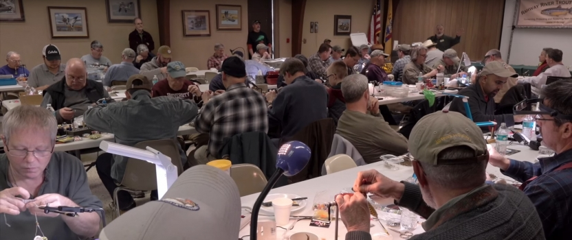 5th Annual New Jersey TU March Fly Tying Madness Event