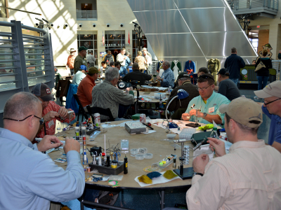 The National Museum of the Marine Corps to host 7th Annual Fly Tying Marathon on March 28, 2020