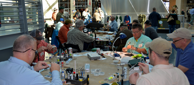 The National Museum of the Marine Corps to host 5th Annual Project Healing Waters Fly Tying Marathon on March 17, 2018