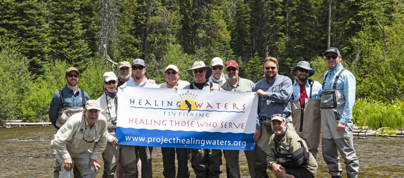 Project Healing Waters Veteran Participants hosted by Sunriver Anglers