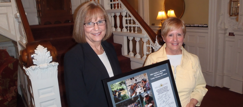 The James A. Meador Foundation Recognized for their Generosity and Support