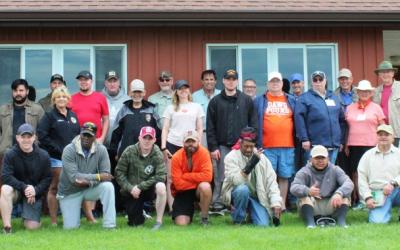 Canandaigua NY veterans enjoy fly fishing picnic with Project Healing Waters