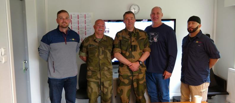 The Norwegian Veterans Administration welcomes American veterans abroad