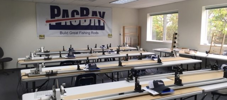 PacBay hosts Project Healing Waters Fly Rod Building Workshop