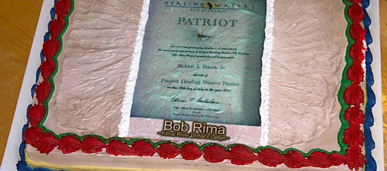 Bob Rima Receives the Patriot Award