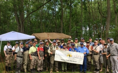 The Musconetcong River: camaraderie, angling, and beautiful surroundings (VIDEO)