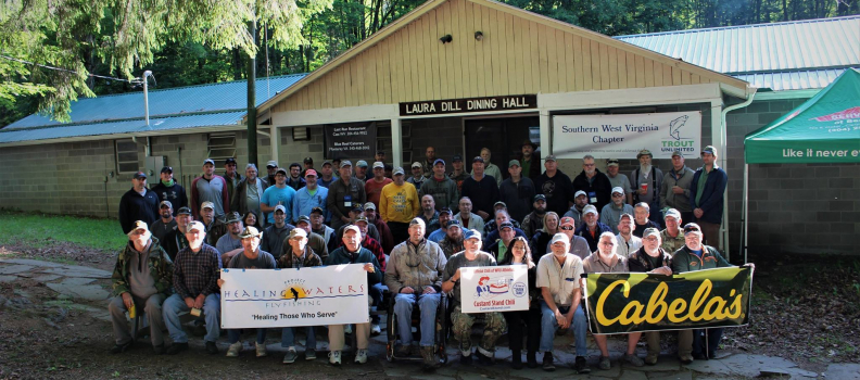 Veterans and volunteers to gather at the Thornwood 4-H Camp in Pocahontas County on June 1-3, 2018