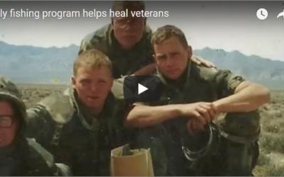 """Fly fishing program helps heal veterans"" (VIDEO)"
