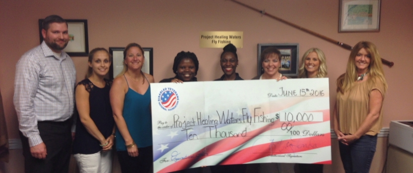 Project Healing Waters Receives Grant from the Disabled Veterans National Foundation