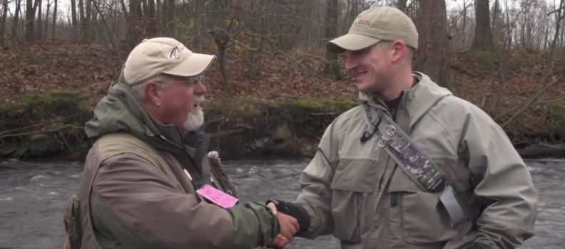 The New Fly Fisher: Steelhead fishing with the veterans of PHWFF Syracuse & Fort Drum (VIDEO)
