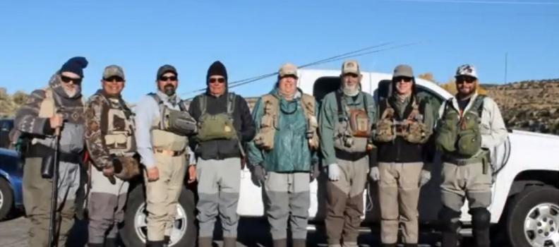 Veterans venture to the San Juan River with PHWFF Albuquerque (VIDEO)