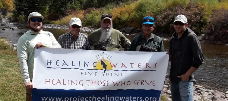 Project Healing Waters Fly Fishing program to serve disabled veterans in the San Luis Valley