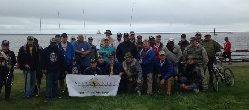 Combined Wisconsin PHWFF Fishing Outing to Lakeshore State Park