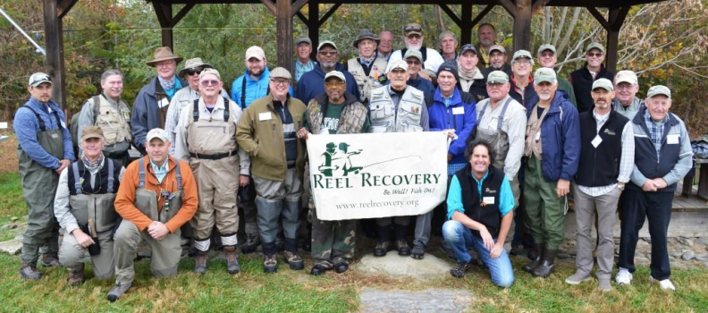 Reel Recovery and Project Healing Waters Offer Opportunities to Heal Through Fly Fishing in 2016