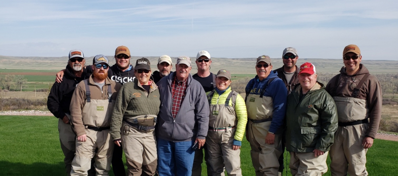 Veterans experience an unforgettable trip to Forrester's Bighorn Resort
